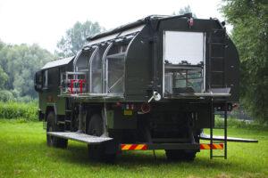 Biological reconnaissance vehicle