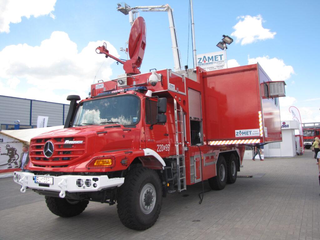 Tactical command truck