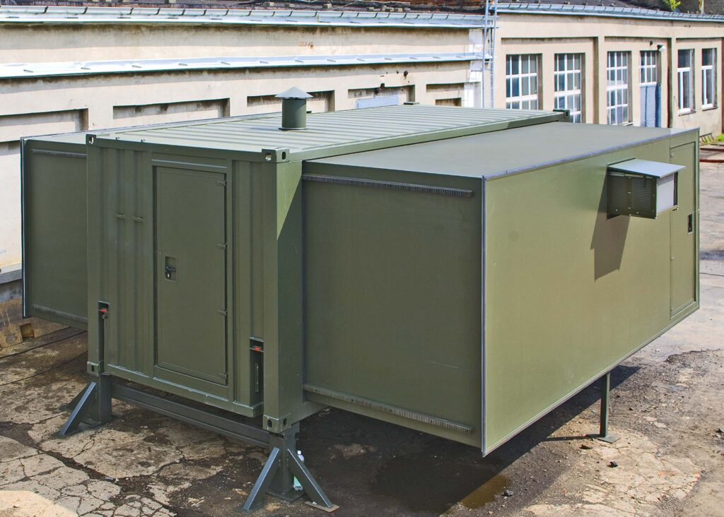 Extendible kitchen container